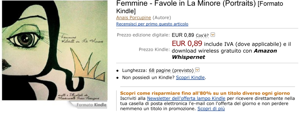 Femmine - Favole in La Minore (Portraits) eBook: Anais Porcupine