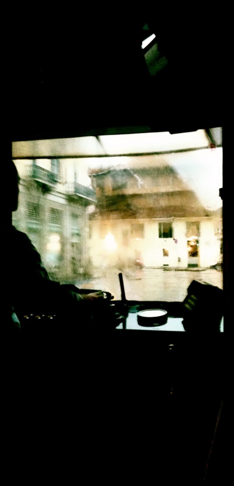 Riflessione su un Tram